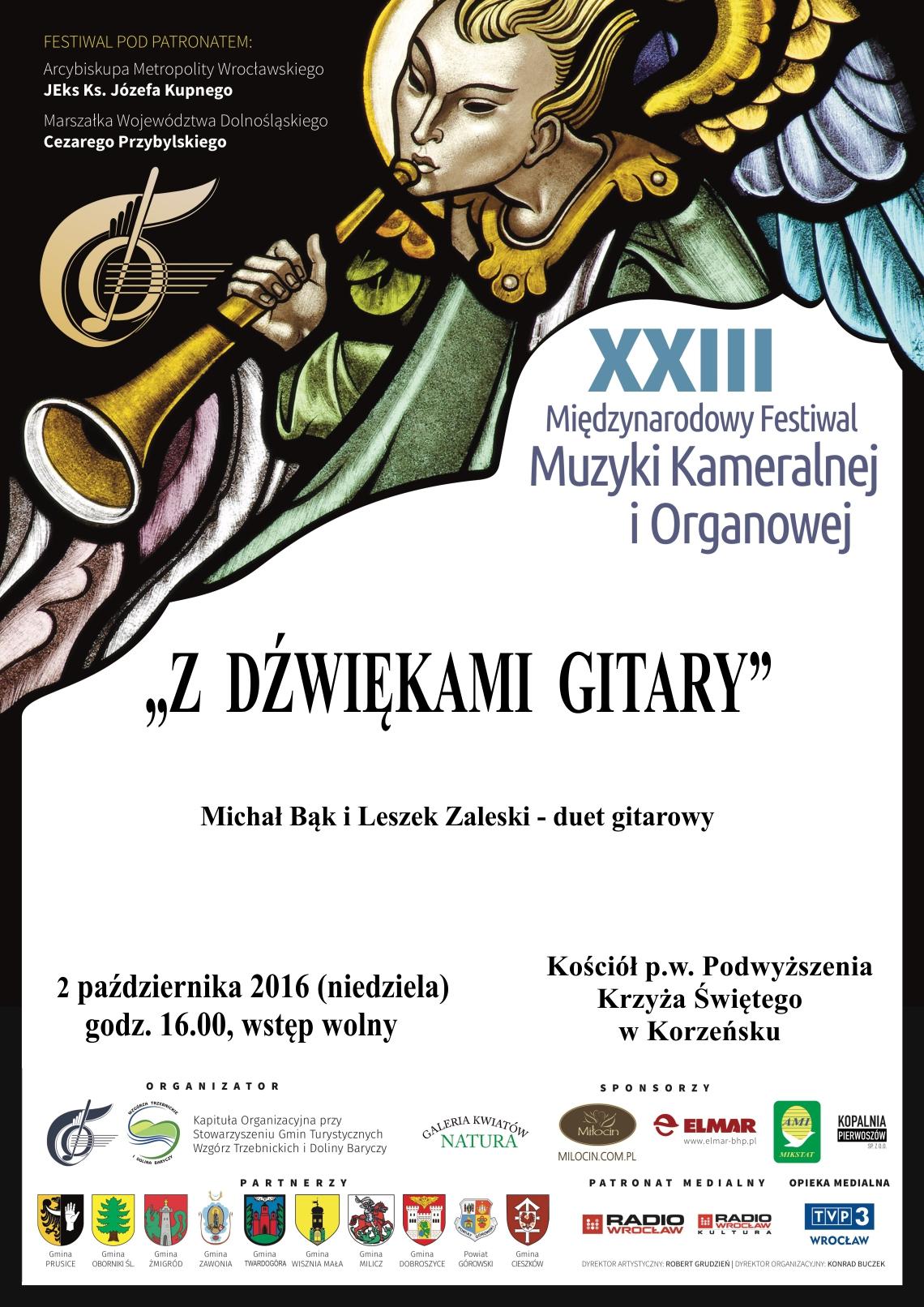 XXII Międzynarodowy Festiwal Muzyki Kameralnej i Organowej!
